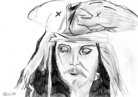 Johnny Depp par aliciab